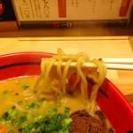 えびそば 一幻 - 780えん『えびみそ(あじわい・極太麺)』2014.7