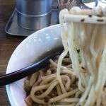 麺場 ふうらいぼう - 全粒粉太麺