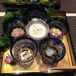 うさぎ庵 - 共通の前菜