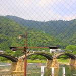 錦帯茶屋 - カウンター席から眺める錦帯橋