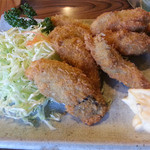 とんかつ 友野 - 料理写真:カキフライ