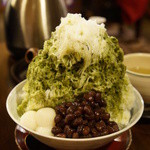 八女茶販売・喫茶 伽藍堂 - 料理写真:特・緑茶氷(620円)