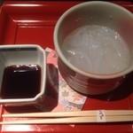 日本料理 みゆき - 甘味 葛きり