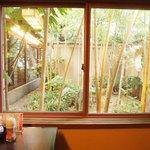 がんこ  - 個室から庭苑観賞