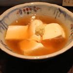 成冨 - しょうが葛あんかけ豆腐