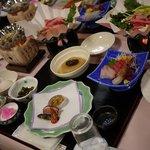 猪苗代観光ホテル - 料理写真:夕食の御膳