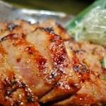 らくだのこぶ - 豚ロースの熟成味噌漬け焼き