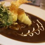 すぷーん - 料理写真:季節の天ぷらカレー