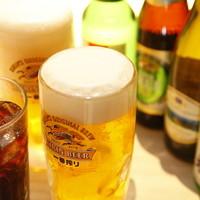 ビールがすすむ!ハイボールがすすむ!飲み放題が980円で♪