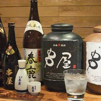 奈良の地酒や、オリジナル焼酎も