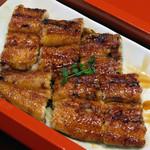 本庄うなぎ屋 - 鰻蒲焼は関西風の瀬田焼です