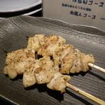 あぶり肉 がらん - がらんのシロ串(1本200円)オススメ!