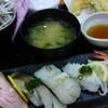 ジャンボおしどり寿司 - 料理写真:あぶりランチセット