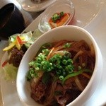 MID・DINER - ランチ。ご飯は五穀米。大盛り&おかわりd(^_^o)730円
