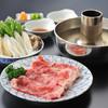 四季・日本料理 いばら木 - 料理写真:山形牛しゃぶしゃぶ