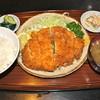 とんかつさいとう - 料理写真:梅しそとんかつ定食 ¥1100