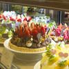 ラ・メゾン アンソレイユターブル - 料理写真:常時10種類以上のタルトが並ぶショーケース