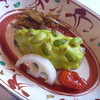 かんざ - 料理写真:サワラの枝豆ずんだ焼き