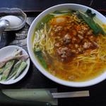 台湾家庭料理 めめ - 今週のランチBの台湾ラーメン…あ、アップロード漏れ!