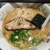広州 - 料理写真:焼き飯セット770円のラーメン いろいろ無駄なものが乗っている