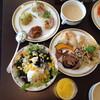 パスチオーナ - 料理写真:サラダたっぷり(2014.7)