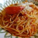 サイゼリヤ - パルマ風パゲッティ・トマト味