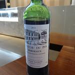 ペストリーショップ - ワインはボルドーの赤
