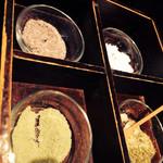 天ぷら新宿つな八 - 4種の塩