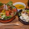 ハニーポット - 料理写真:日替わりボウルランチ(唐揚げサラダボウル)