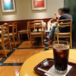 エクセルシオールカフェ - アイスコーヒーS 300円
