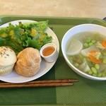 ここほ - お野菜中心の日替わりランチ 700円