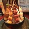 おんどり家 - 料理写真:横須賀メガ盛りコンテスト出品メニュー「メガ串焼丼」