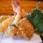 和顔施 - メインの天ぷらです。