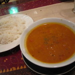 インド料理パラカス - ダル&ライス♪