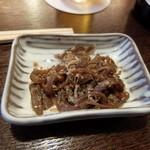 鰻 十和田 - お通し