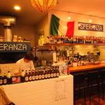 SPERANZA - 薪窯とカウンター