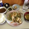 安さん - 料理写真:別の日に食べたゴーヤチャンプル定食+カレールー追加800円