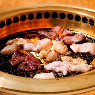 野菜と食べる焼肉&ホルモンわの焼肉道【ホルモンの焼き方編】