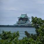 花外楼 - 窓からは、大阪城も見えました!