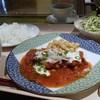 ラ ユウキ - 料理写真:日替わり。鶏のランチェラソース。