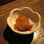 京の町 - お造りは泡醤油で頂きます。。