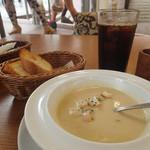 VENTO - ランチにセットのスープ