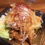 肉汁餃子製作所ダンダダン酒場 - 油淋鶏724円
