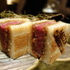 ミルカレス - 料理写真:和牛ヘレ肉のカツサンド (本日は宮崎産) タマネギやフルーツをじっくり煮込んだ特製ソースがたまらなく美味い