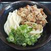 いきいきうどん - 料理写真:肉ぶっかけ冷