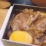 茶洒 金田中 - ランチ¥2,800の(すき焼き)