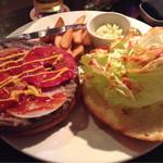 MKYアメリカンレストラン - 写真を撮るタイミングよく無く美味しくなさそうに写ってますが、美味しかったデスよ(^^)。