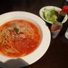 レシピ - 料理写真:本日のパスタランチ800円、サラダ・ドリンク付き