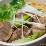XI'AN - スペアリブのせ刀削麺(小)【2014年6月】