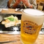 おかる - 生ビールが美味しい!!